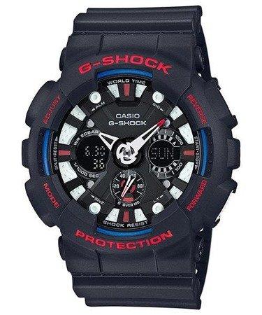 Zegarek Casio GA-120TR-1AER G-Shock TriColor