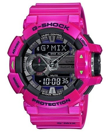 Zegarek Casio GBA-400-4CER G-Shock BT 4.0 G'Mix Smart