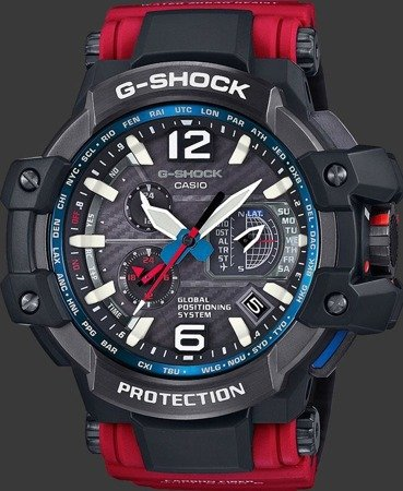 Zegarek Casio GPW-1000RD-4AER G-Shock GPS Solar