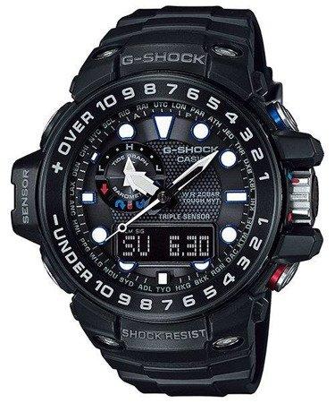 Zegarek Casio GWN-1000B-1AER G-Shock Gulfmaster