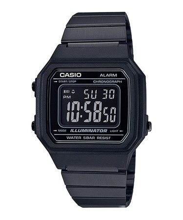 Zegarek Casio Retro B650WB-1BEF Black Easy Reader