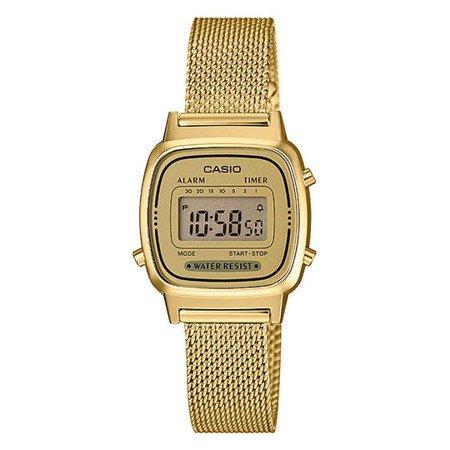 Zegarek Damski Casio Retro LA670WEMY-9EF Gold Tone