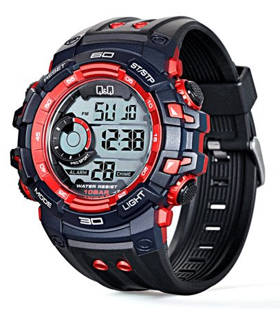 Zegarek Q&Q M156-002 Dual Time