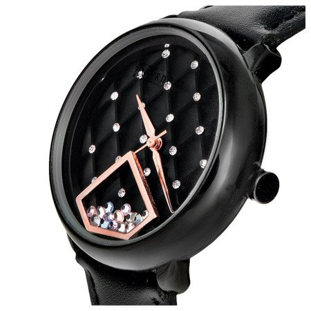 Zegarek damski Ruben Verdu RV0502 Ruchome Kryształki