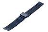Bransoleta stalowa do zegarka 18 mm Bisset BM-103/18 Blue