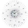 Zegar ścienny JVD HJ66 z kryształkami średnica 80 cm